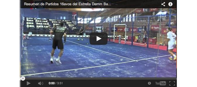 Resumen de Partidos 16avos del Estrella Damm Badajoz Open