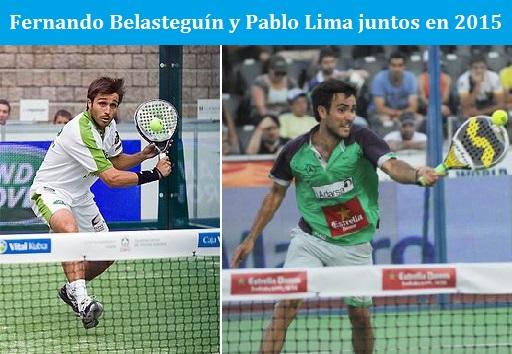 Belasteguín y Pablo Lima jugarán juntos en 2015