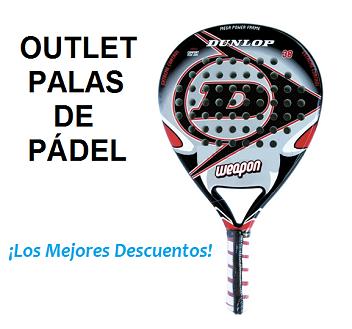 Palas de Padel Outlet