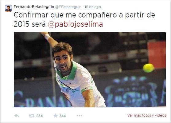 Tweet Bela-Lima 2015