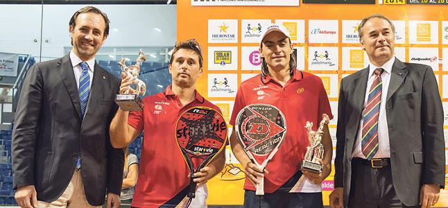 Juani Mieres y Matías Díaz Campeones del Mundo por Parejas 2014
